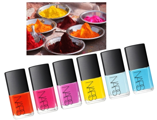 Thakoon, NARS, nail polish, India, spice, cosmetic, beauty, makeup